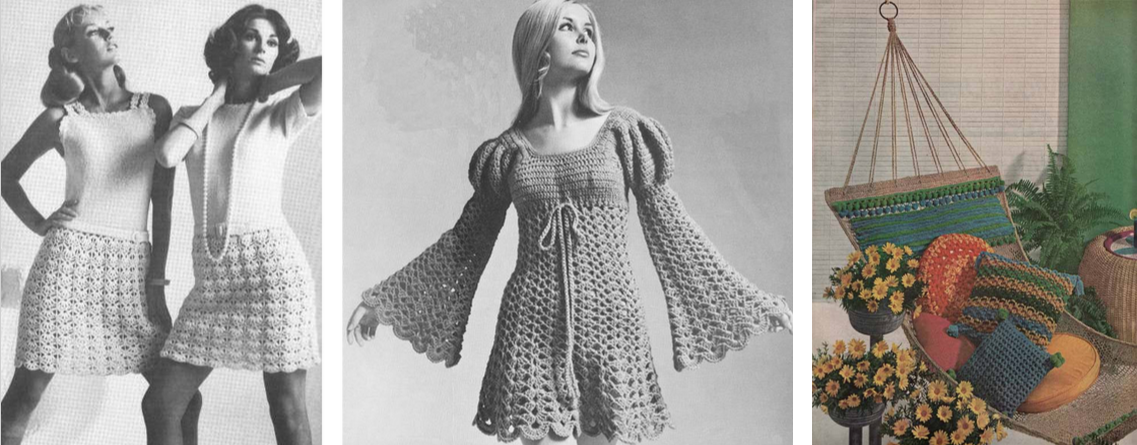 Crocheting History : The ?granny square? also came into vogue. A simple design, this ...