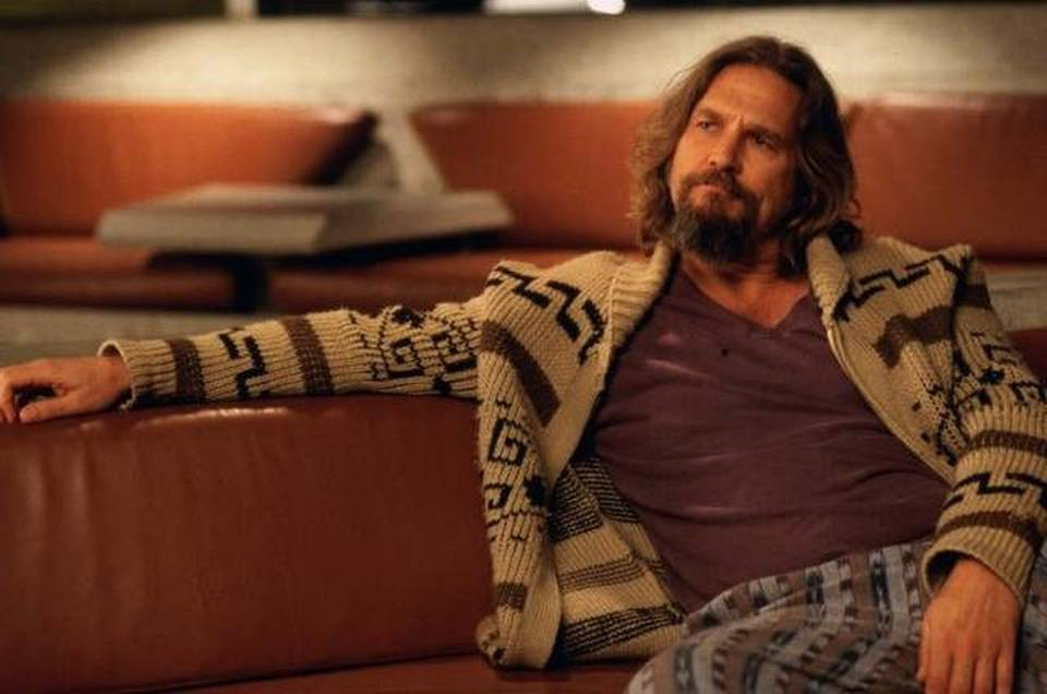 The Dude's Cardigan - The Big Lebowski