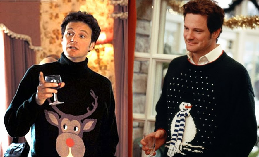 Mark Darcy's Christmas Sweaters - Bridget Jones's Diary