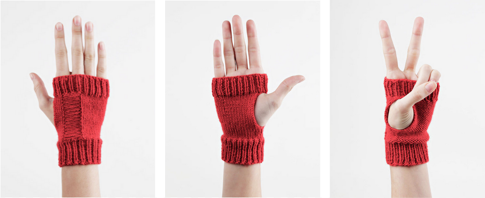 Wool and the Gang Reversible Racerback Mitts