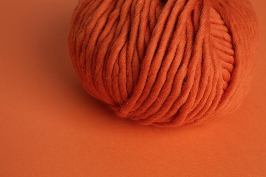 Crazy Sexy Wool - Rusty Orange