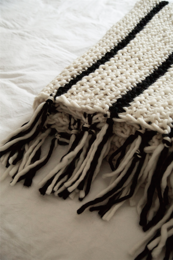 Knitting A Blanket On Circular Needles : How to knit a blanket watg
