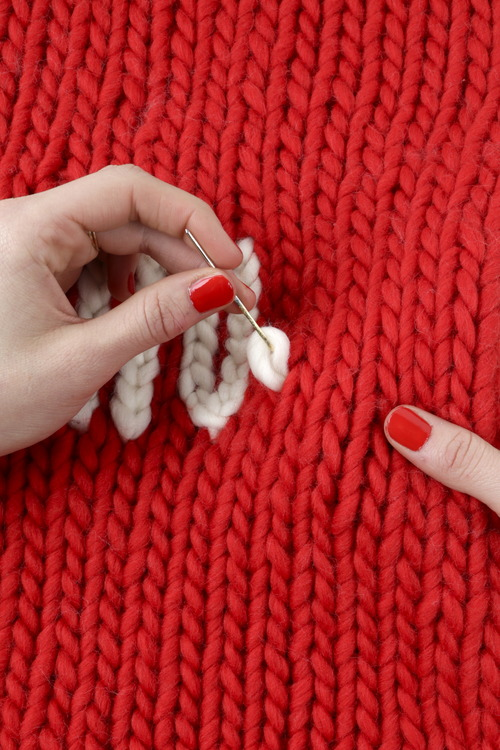 How to make the chain stitch 1