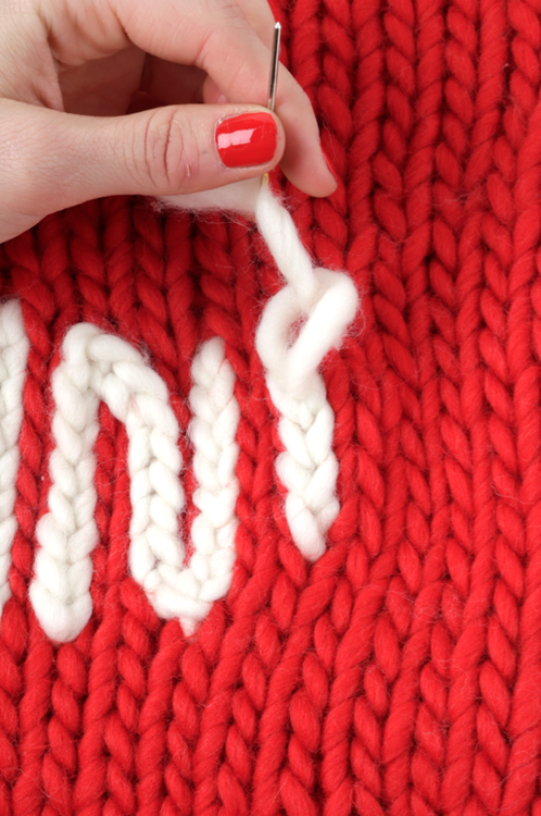 How to make the chain stitch 6