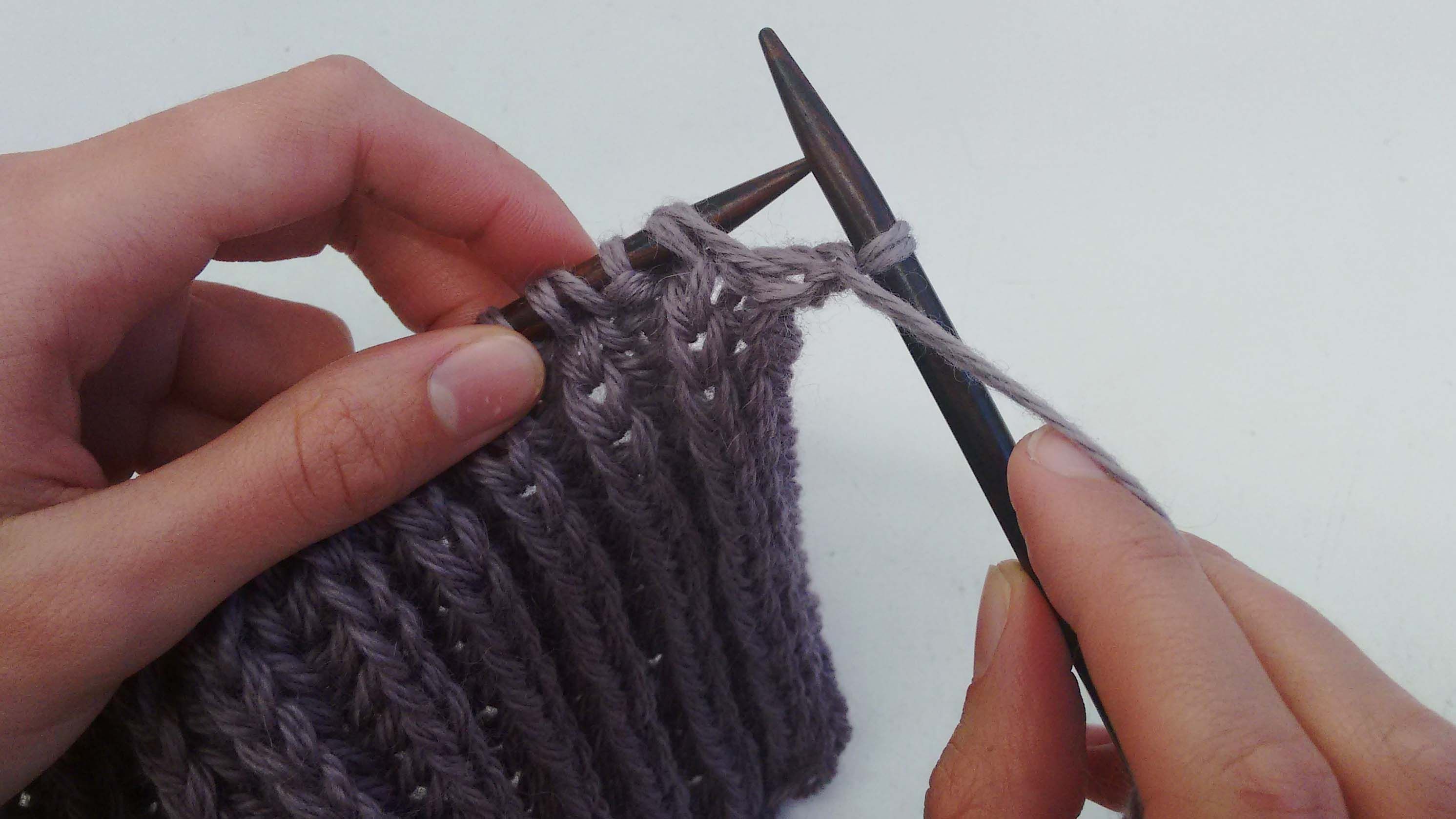 How to knit brioche stitch | Wool and the Gang Blog | Free Knitting ...