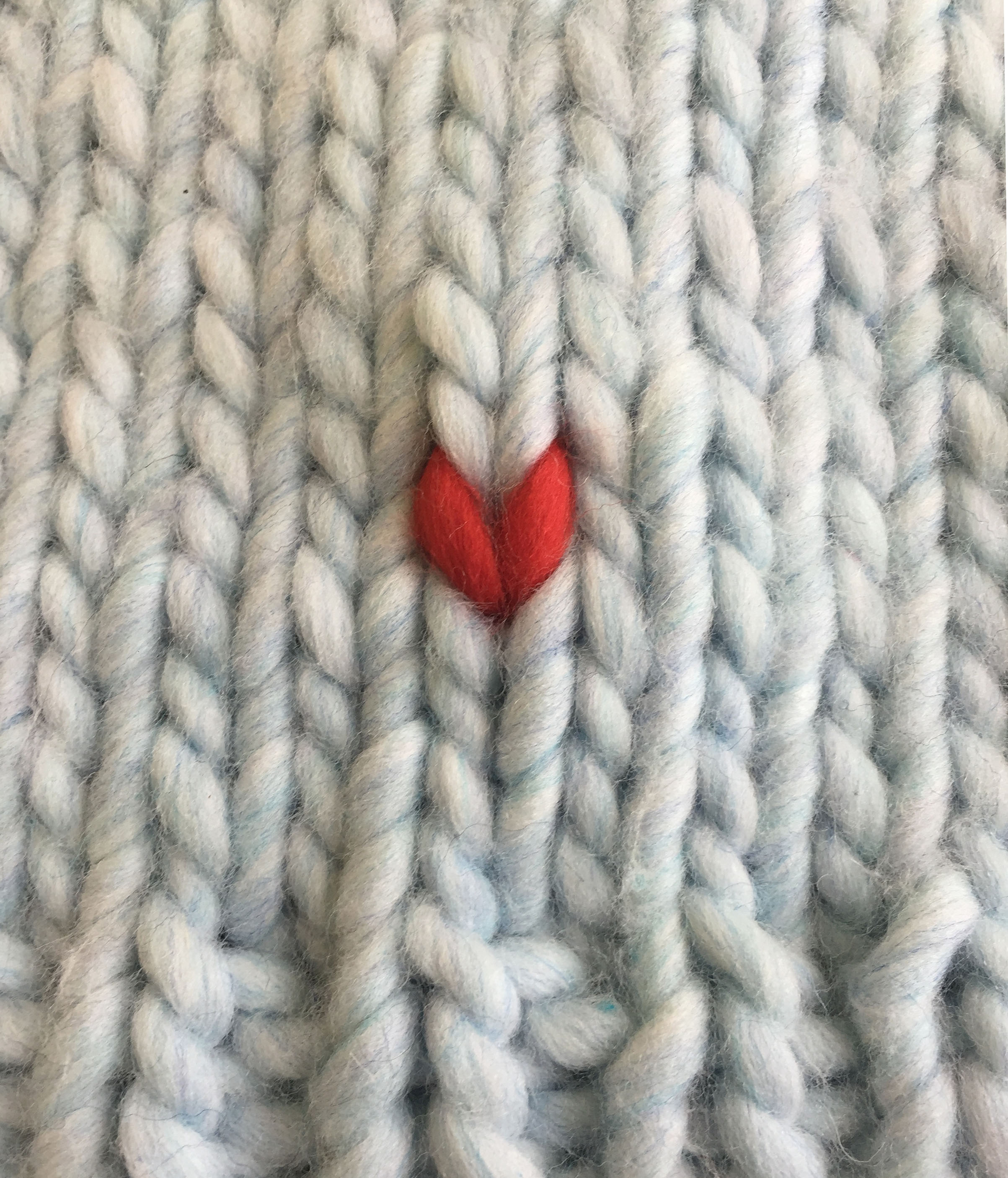 Free knitted heart template – duplicate stitch | WATG Blog