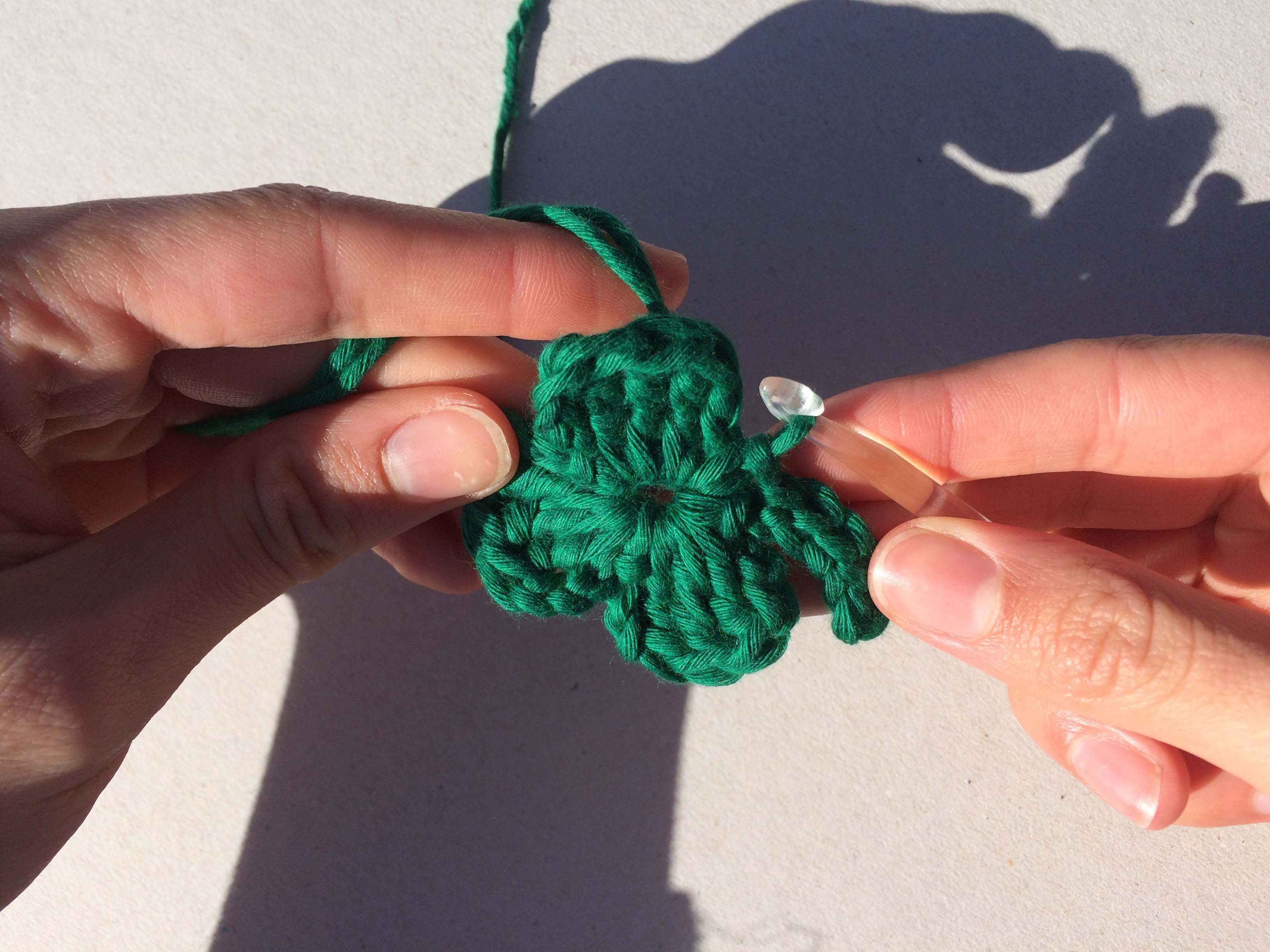 Crochet project for St Patrick's Day
