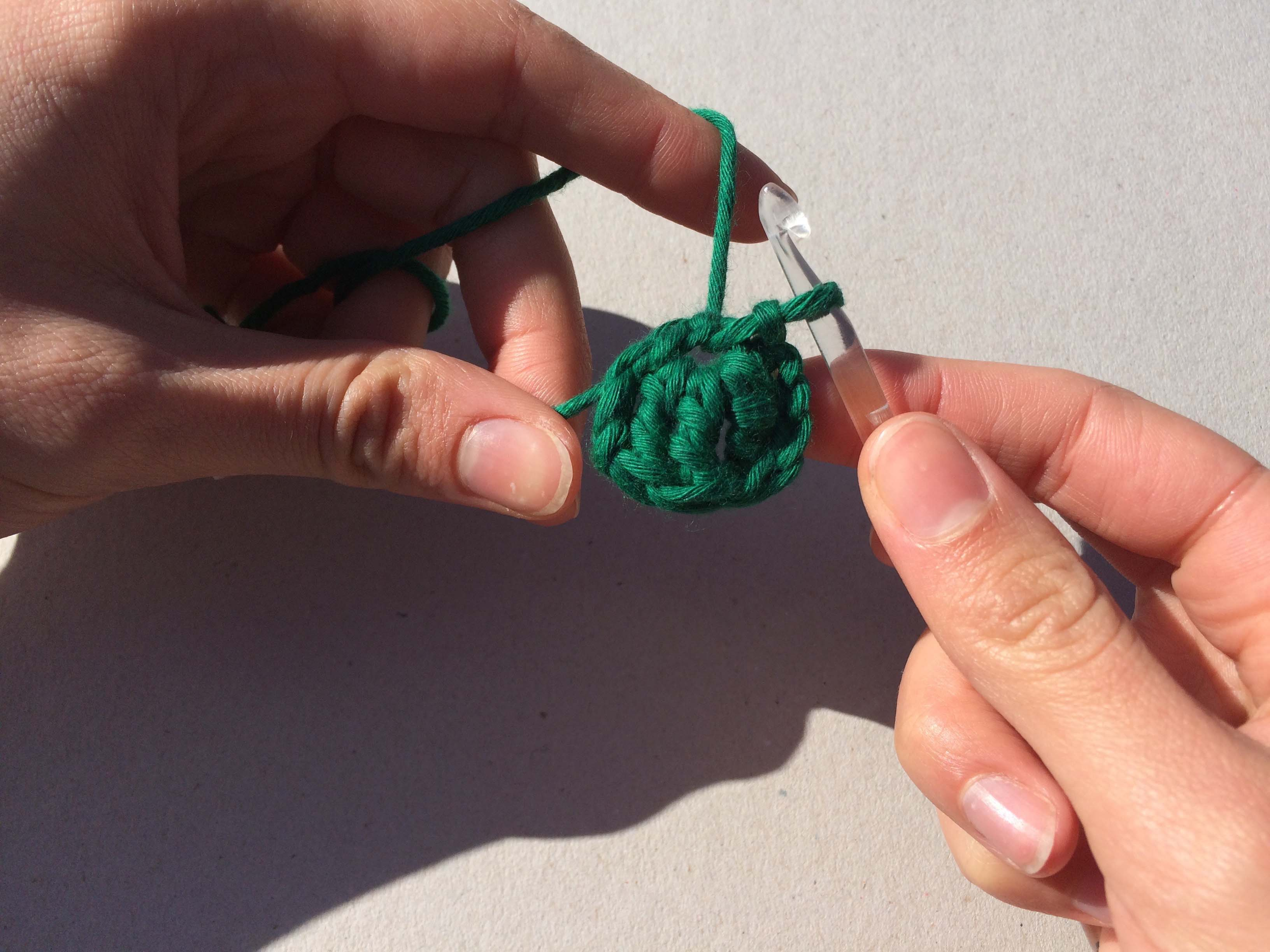 Shamrock crochet DIY