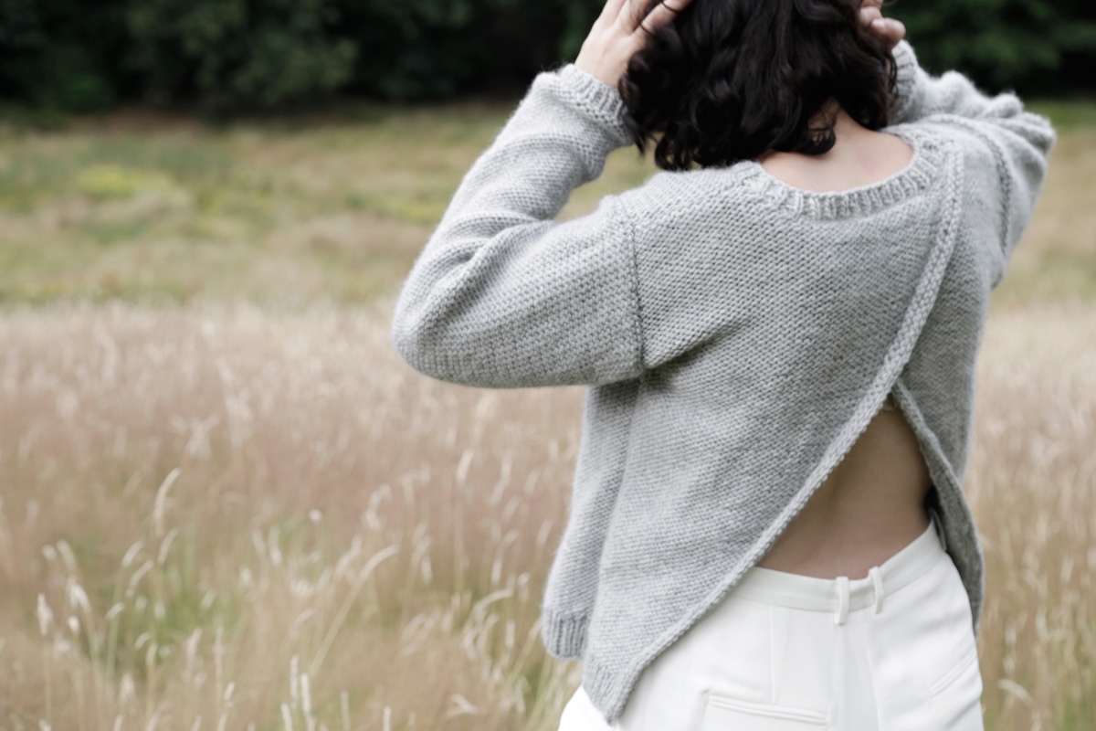 A great sweater to feel flirty and comfy by WATG