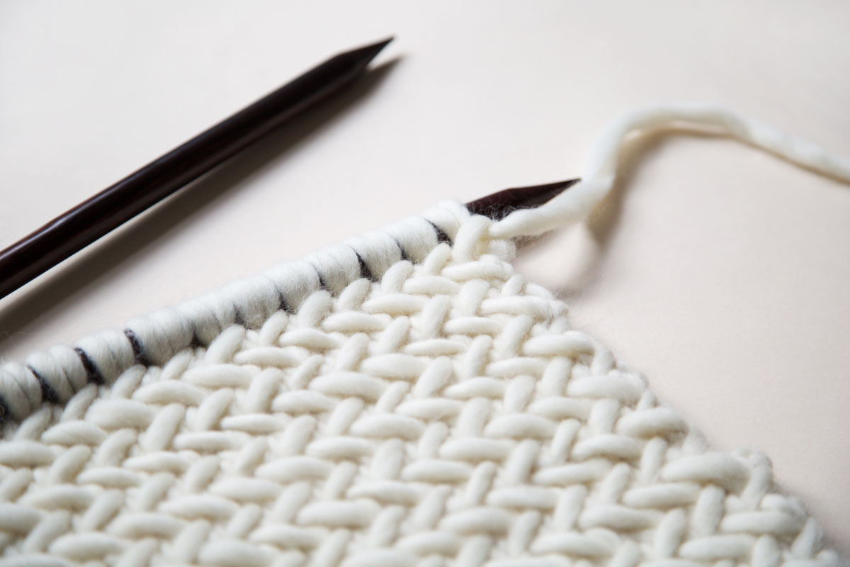 How To Knit Herringbone Stitch Wool And The Gang Blog