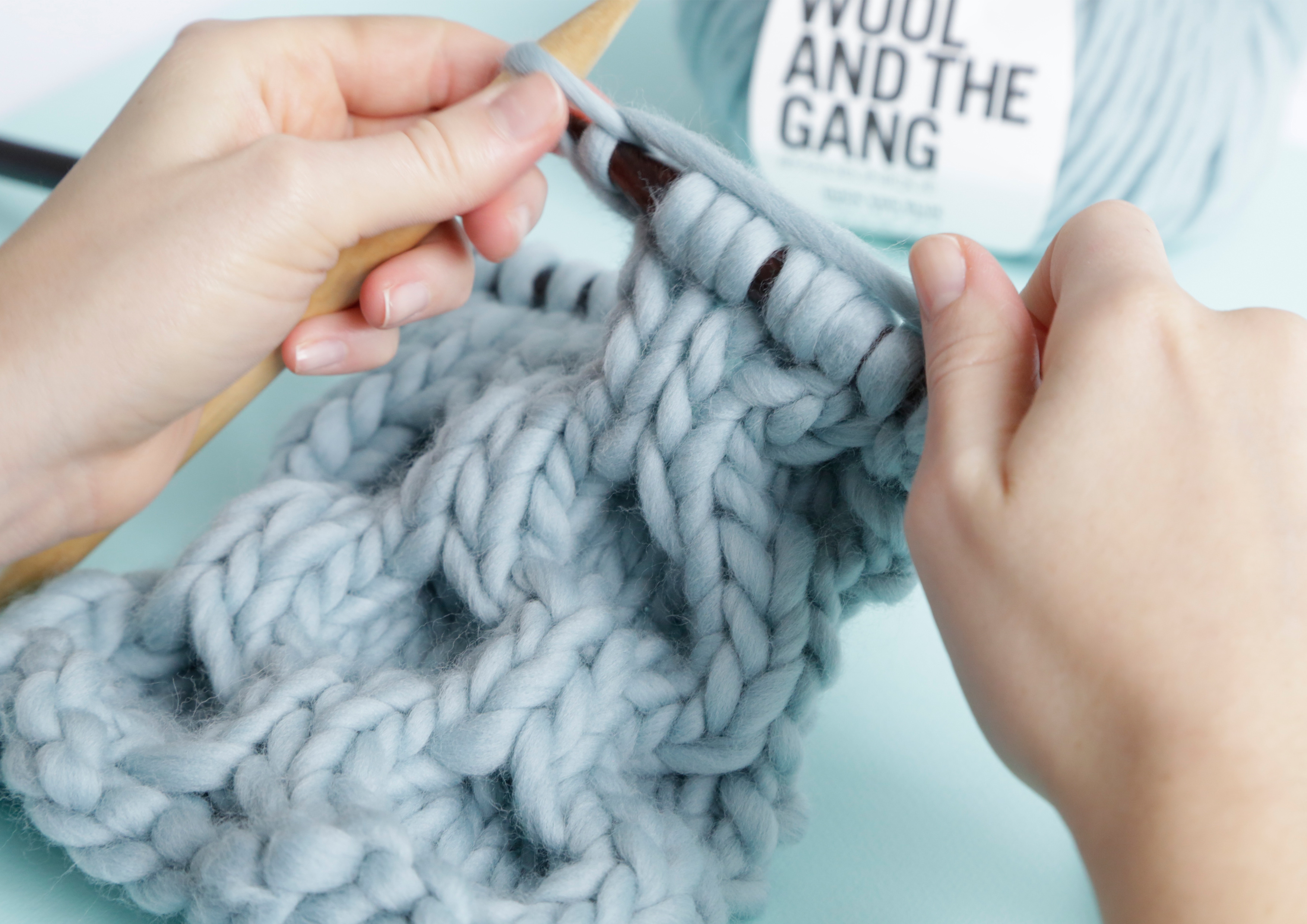 How to knit Honey b Cable Stitch