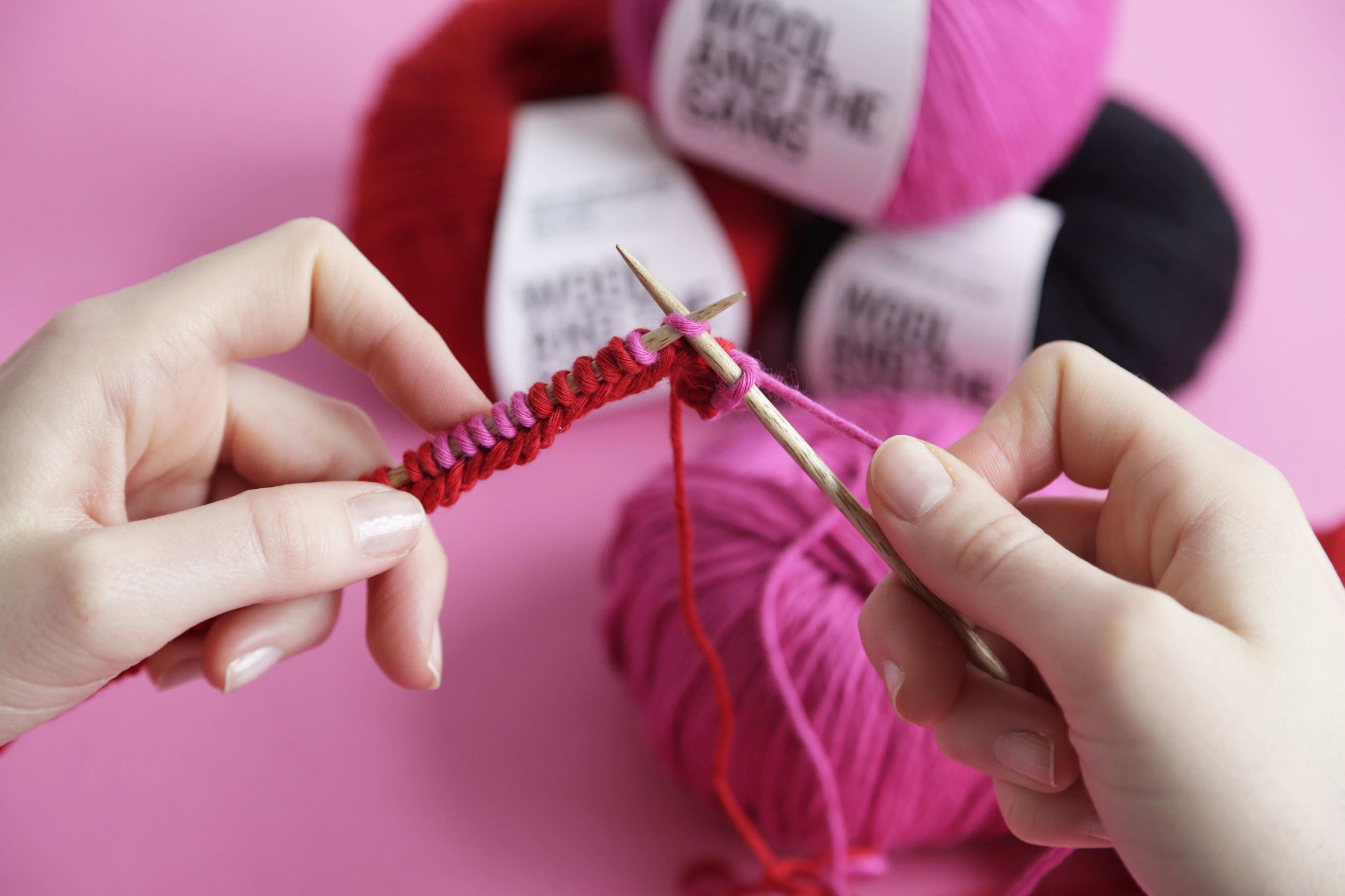 Matty Bovan X Watg How To Knit The Highway Mask Wool And The Gang
